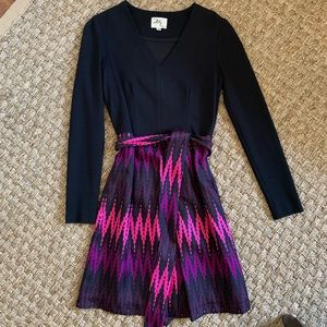 Milly long sleeve dress size 2